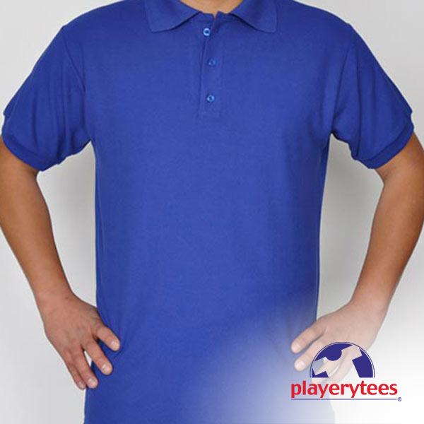 Playera Polo Caballero PLAYERYTEES. logo playerytees oficial 4c1c6c7ae2b98